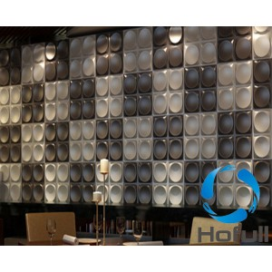 3D plastic decorative wallboard