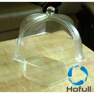 Clear plastic thermoforming products