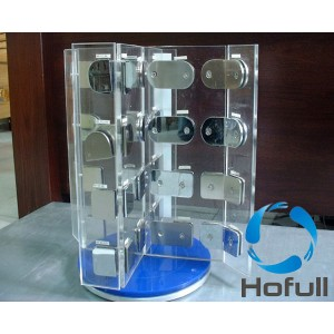 Rotatable acrylic display