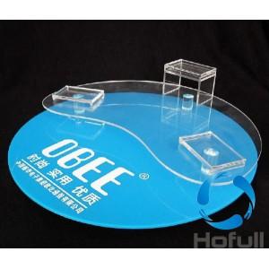 Printing acrylic display
